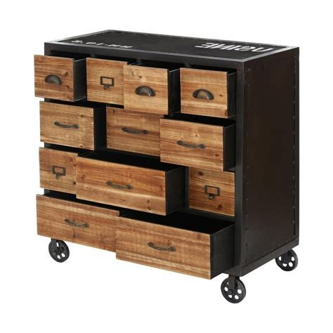 industrial style dresser buy industrial style foundry chest of drawers from fusion