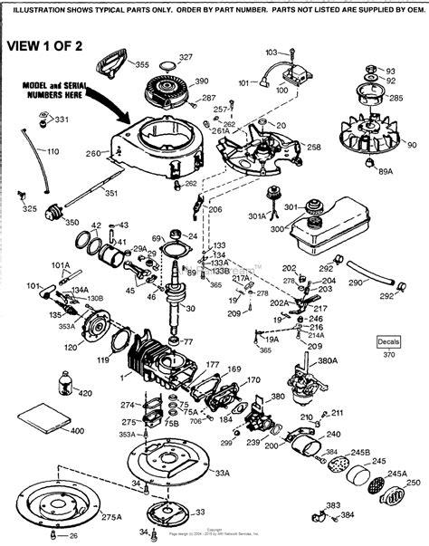 Tecumseh Parts Diagram For Engine List