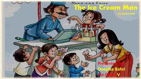 ice cream man cbse ncert class  lesson explanation