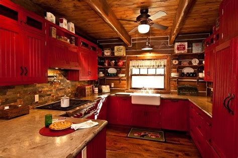 Best 25+ Red Country Kitchens Ideas On Pinterest  Country