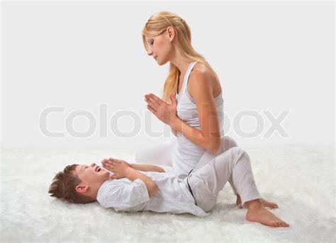 Son Fuck Mom Doing Yoga