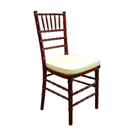 mahogany chiavari chair rental san diego chair rentals