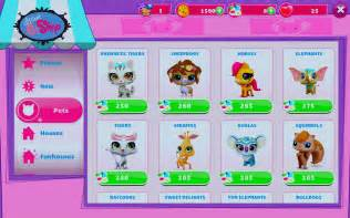 Littlest Pet Shop Games