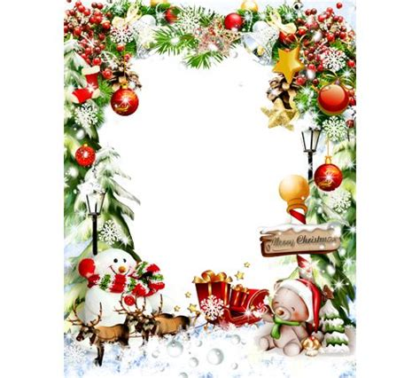 merry christmas frames png photo frame christmas attributes muffins pinterest photos