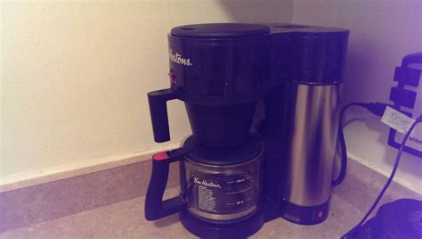 selling tim hortons bunn coffee maker
