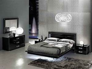 Bedroom contemporary black bedroom furniture bedroom for Contemporary black bedroom furniture