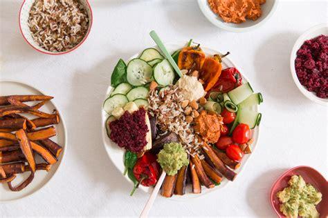 recette cuisine asiatique veggie bowl ou la assiette végétarienne