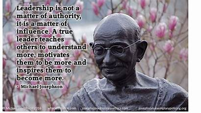 Leadership Quotes Business Many Managers Vision Gandhi