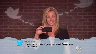 Lisa Kudrow Imgur Kimmel Jimmy There Ill