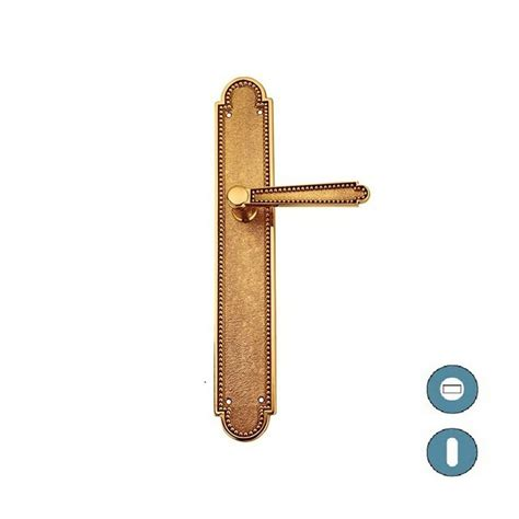plaque poignee de porte poign 233 e de porte sur plaque style 1900