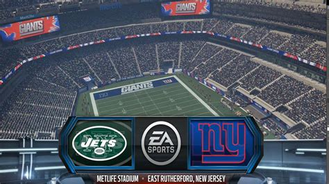 New York Giants Vs. Jets