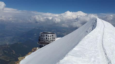 refuge du gouter ascension mont blanc voie normale refuge du gouter
