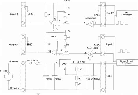 electric scheme of the module scientific diagram