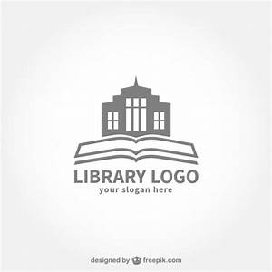 online bookstore template free downloads library logo free vector
