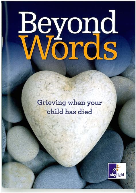 comforting words after a books on bereavement redkite