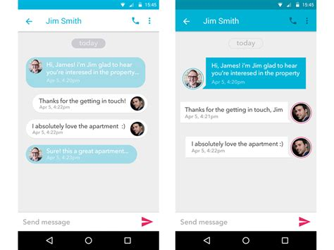 chat android chat android materialup