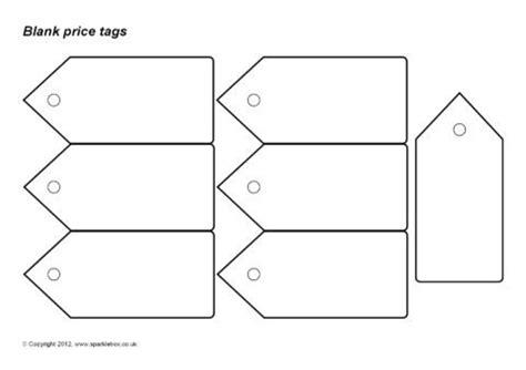 blank  editable price tag templates sb sparklebox