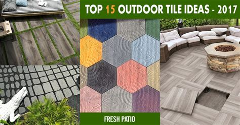 how to install kitchen tile top 15 outdoor tile ideas trends for 2016 2017