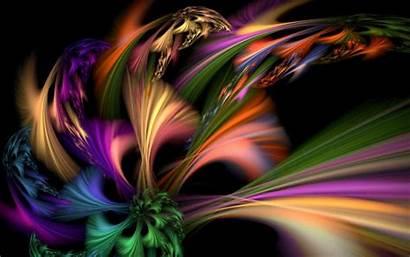 Abstract Burst Wallpapers Colorful Desktop Fractal Background
