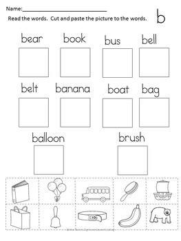 letter  worksheets  beginning sound letter   week