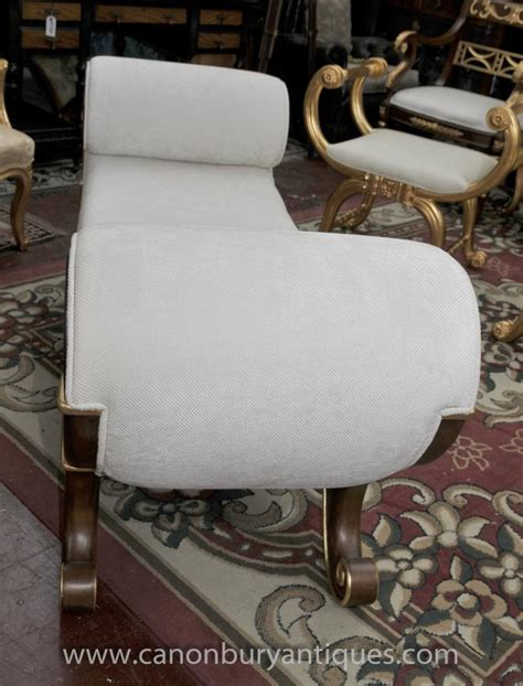 chaise empire empire stool chaise longue seat day bed