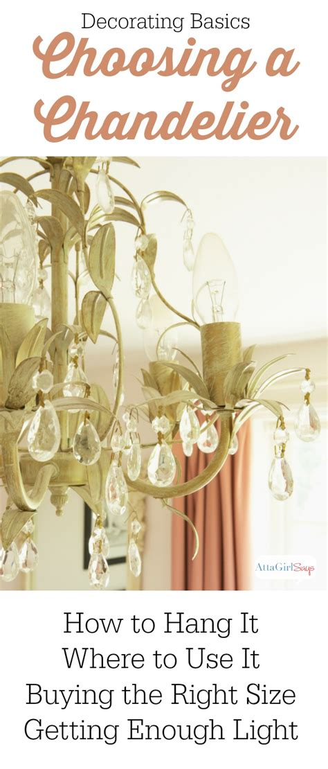 a by the numbers guide to choosing a chandelier for every