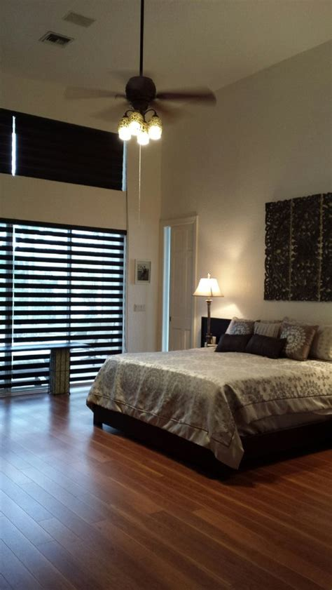 Double Height Ceiling In Master Bedroom