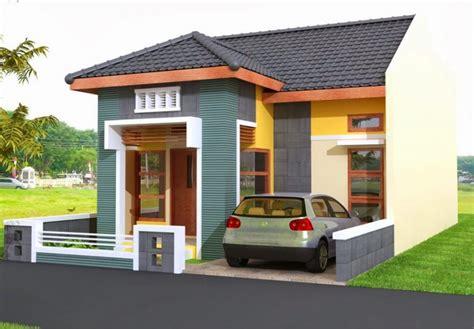 contoh desain rumah idaman cantik sederhana renovasi