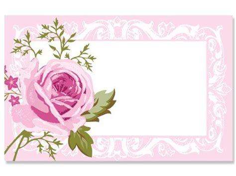 pack delicate pink roseno sentiment enclosure cards