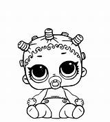 Lol Coloring Dolls Pages Surprise sketch template