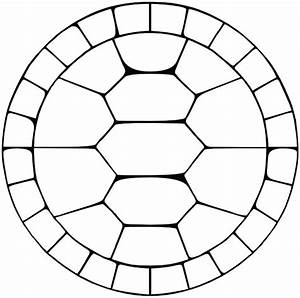 free coloring pages of tortoise shell With ninja turtle shell template