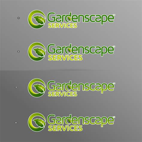 landscape business logo company name logo design