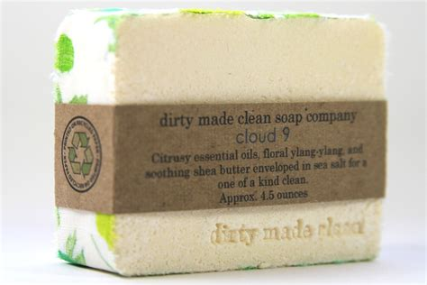 custom  natural soap  dirty  clean soap company