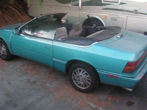 Find Used 1994 Chrysler Lebaron Gtc Convertible 2-door 3
