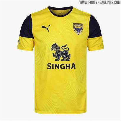 Oxford United Kit Kits Puma English Away