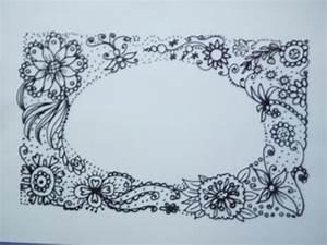 Schöne Muster Zum Selber Malen : zeichnen lernen f r anf nger sch ne zentangle verzierung muster f r eine karte youtube ~ Orissabook.com Haus und Dekorationen