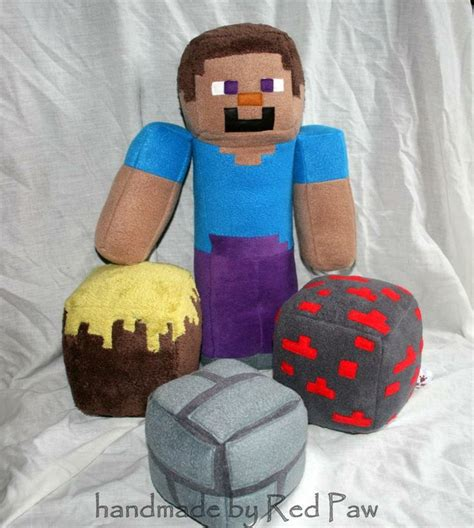 inspired plush pillows by cutesykats on deviantart 17 best images about steve on plush yahoo Minecraft
