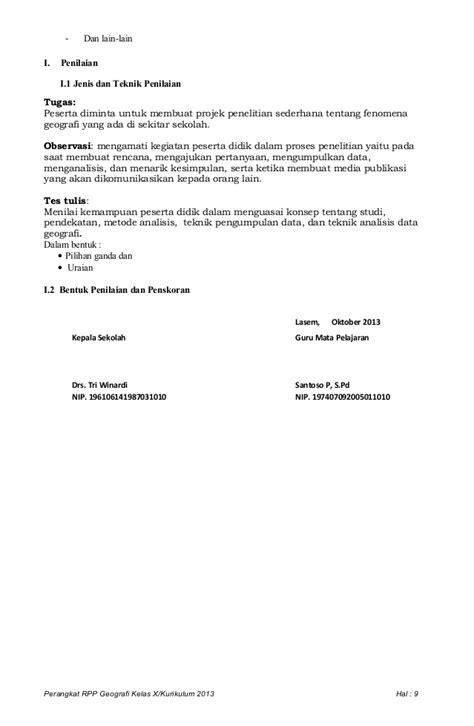 Rpp 2 geo langkah penelitian