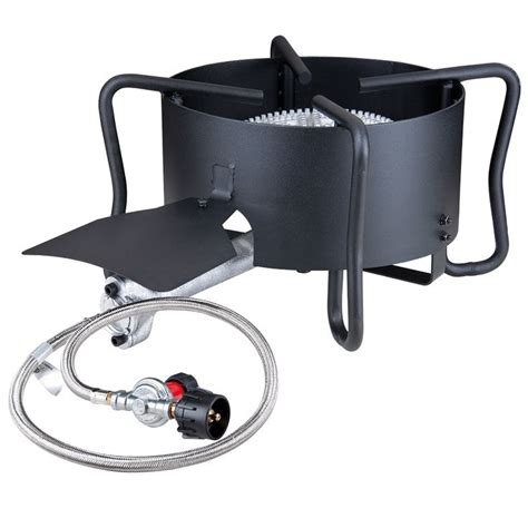 backyard pro outdoor range patio stove with hose guard