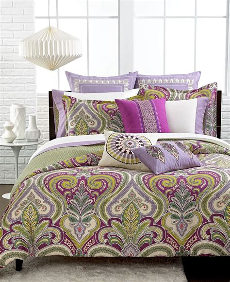 echo vineyard paisley comforter and duvet cover sets