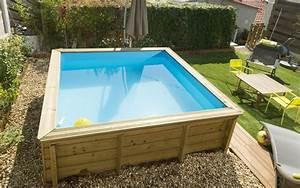 Piscine Hors Sol 4x2 : piscine bois petite dimension petite piscine bois semi enterr e lesitedegertrude ~ Melissatoandfro.com Idées de Décoration