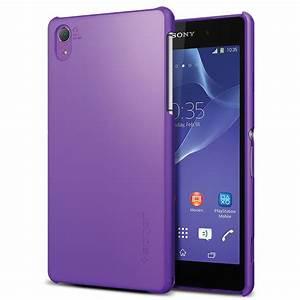 Spigen Sony Xperia Z2 Ultra Fit Case (Purple) SGP10830 B&H ...