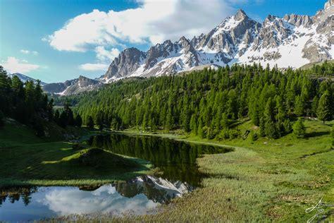 lac miroir  lac sainte anne par ceillac randonnee queyras