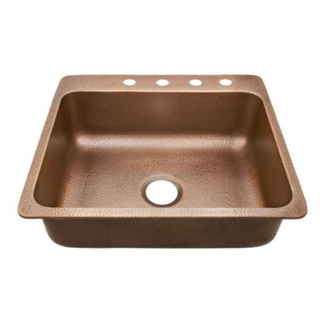 Home Depot Copper Bar Sink by Sinkology Rodin Farmhouse Apron Front Handmade Solid