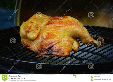 chicken cook time grill chicken on a grill stock photo image 44931763