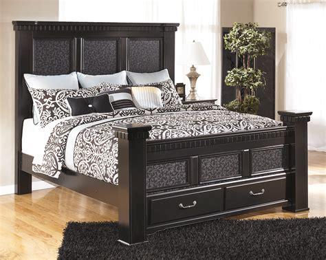 ashley cavallino mansion storage bedroom set b291