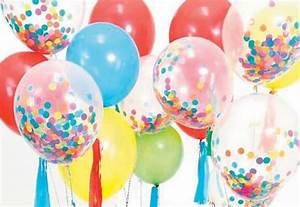 Assorted Paper Confetti for Inside Balloons - 200 Grams