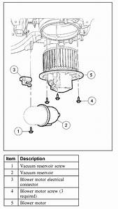 2005 Ford Explorer 4x4  I Don U0026 39 T Know Where The Blower Motor  Diagram
