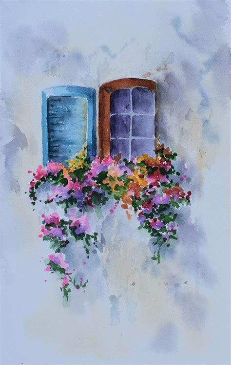 Santorini Watercolor Painting Class (Online), Margaret ...
