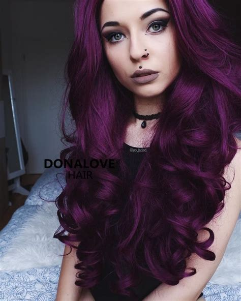 25 Best Purple Hair Ideas On Pinterest Dark Purple Hair